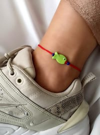 Red - Green - Anklet