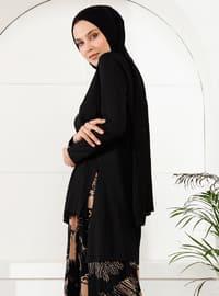 Siyah - Çok Renkli - Astarsız Kumaş - Takım Elbise