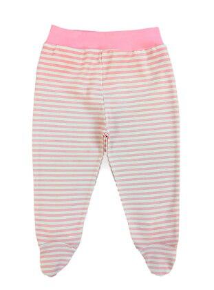 Stripe - - Pink - Baby Pants