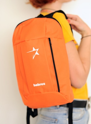 Orange - Backpack - Backpacks