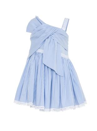 Nylon -  - Blue - Girls` Dress