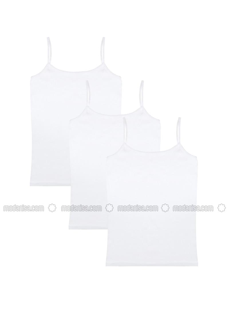 White - - Undershirt