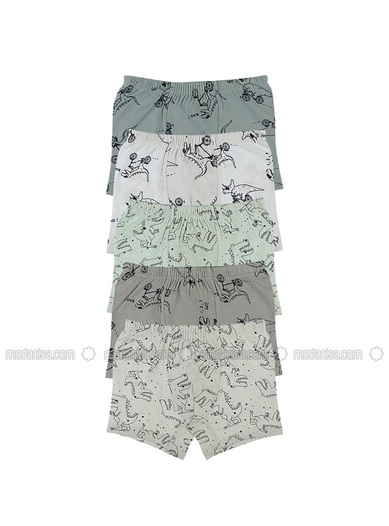 - Unlined - Multi - Kids Underwear