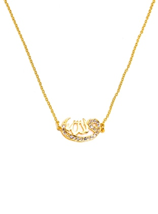 Gold - Necklace - Batı Accessories