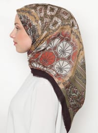 Multi - Printed - Scarf