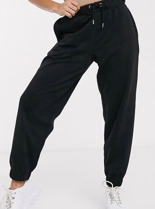 Black -  - Tracksuit Bottom - Nare