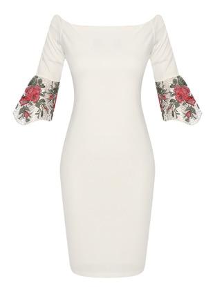 White - Unlined - Dress