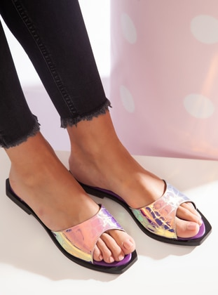 Purple - Sandal - Slippers