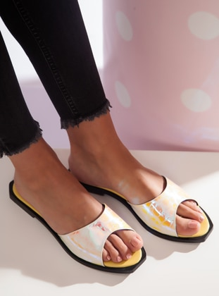 Yellow - Sandal - Slippers