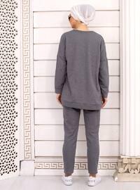 Smoke - Unlined -  - Suit