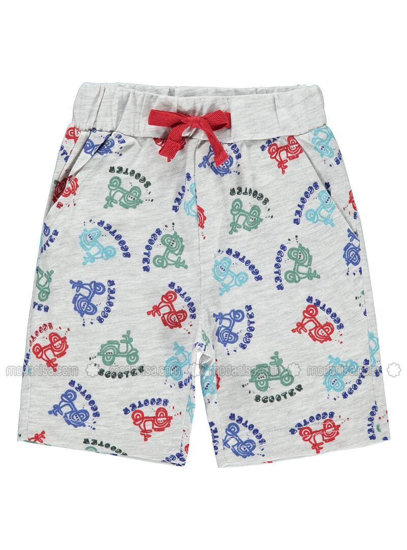 Multi - Baby Shorts