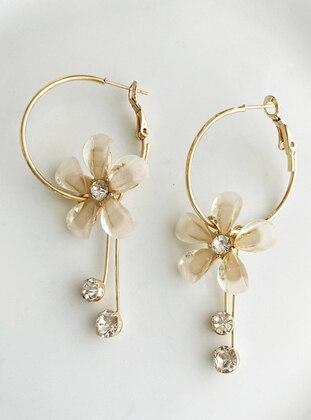 Gold - Earring - Takıştır Bijuteri