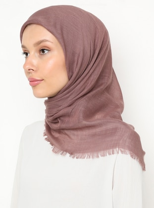 Powder - Rose - Plain - Scarf