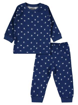 Navy Blue - Baby Pyjamas - Civil