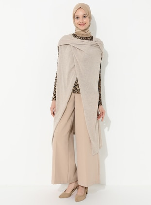 Beige - Acrylic -  -  - Vest