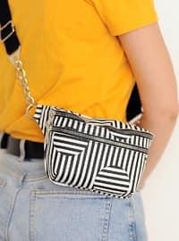 White - Black - Bum Bag