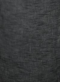 Black - Plain - Scarf