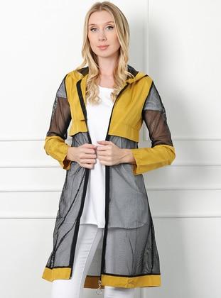Yellow - Unlined -  - Topcoat