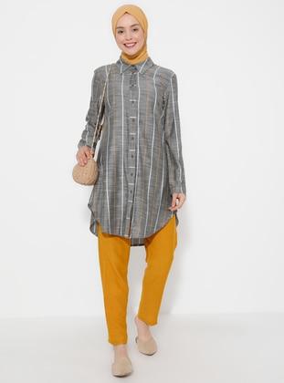 Mustard - Linen - Pants