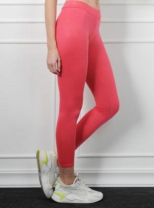 Pink - Acrylic - Legging