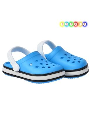 Turquoise - Girls` Sandals - Kiko Kids