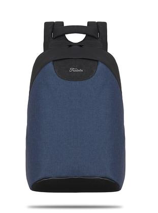 Navy Blue - Waterproof - Backpack - Backpacks