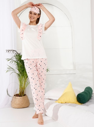 Powder - Crew neck - Floral -  - Pyjama