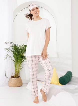 Powder - Crew neck - Multi -  - Pyjama - İnşirah