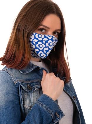 White - Blue - Masks