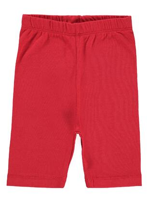 Red - baby tights - Civil