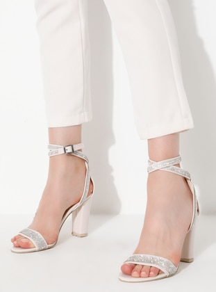 Cream - High Heel - Heels