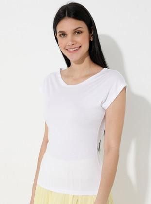 White - T-Shirt - CAMDEN TOWN