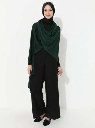 Green - Acrylic -  -  - Vest