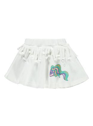 Ecru - Baby Skirt