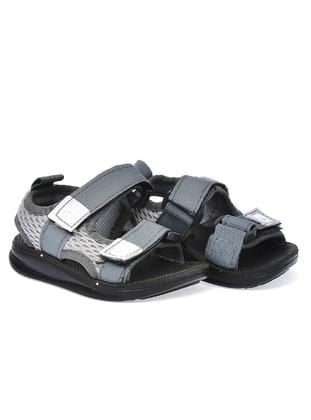 Gray - Boys` Sandals - Gezer