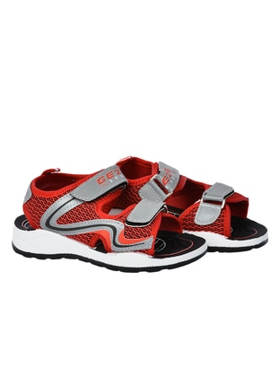 Red - Boys` Sandals - Gezer