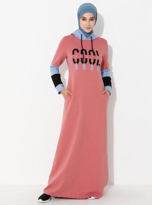 Dusty Rose - Unlined -  - Dress