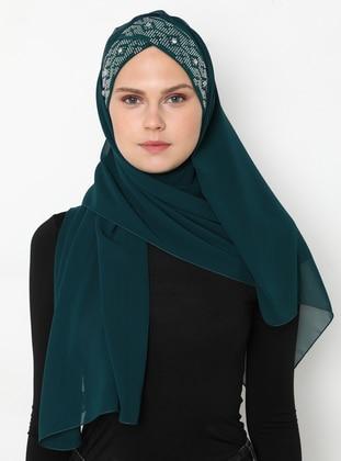Emerald - Plain - Litho - Shawl