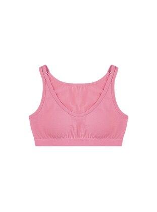 - Unlined - Pink - Girls` Underwear - Donella