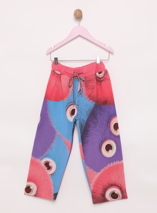 Multi -  - Pink - Girls` Pants