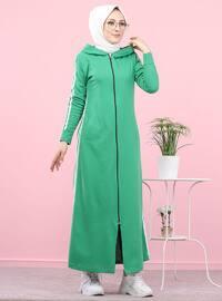 Green - Unlined -  - Topcoat