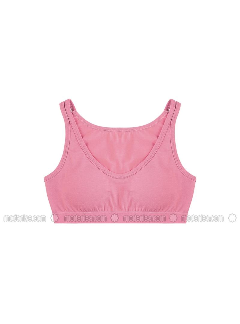 - Unlined - Pink - Girls` Underwear