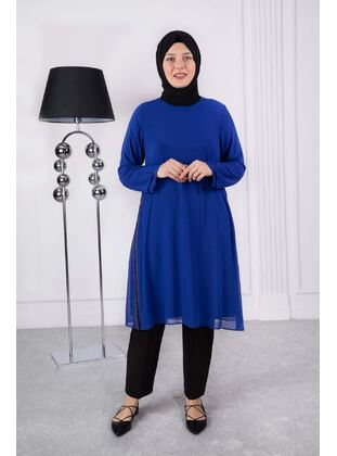 Saxe - Plus Size Evening Tunics - BEHREM