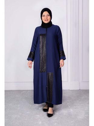 Indigo - Plus Size Evening Abaya