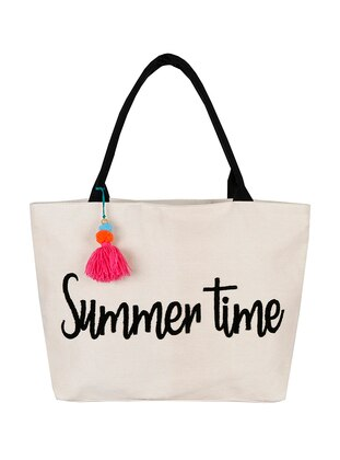 Satchel - Ecru - Beach Bags - Bakras