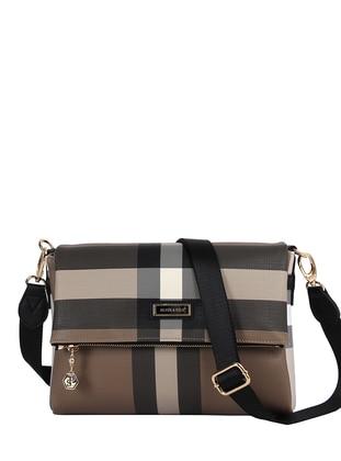 Brown - Black - Satchel - Shoulder Bags