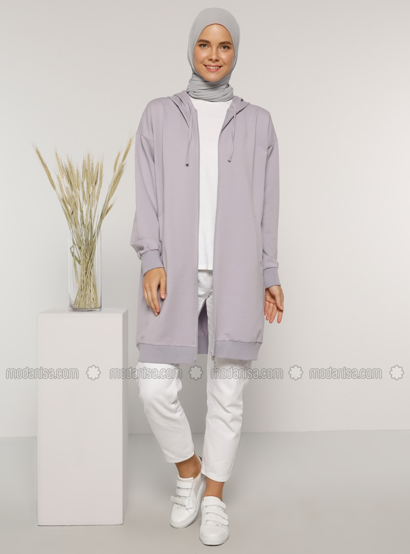 Lilac - Unlined -  - Topcoat