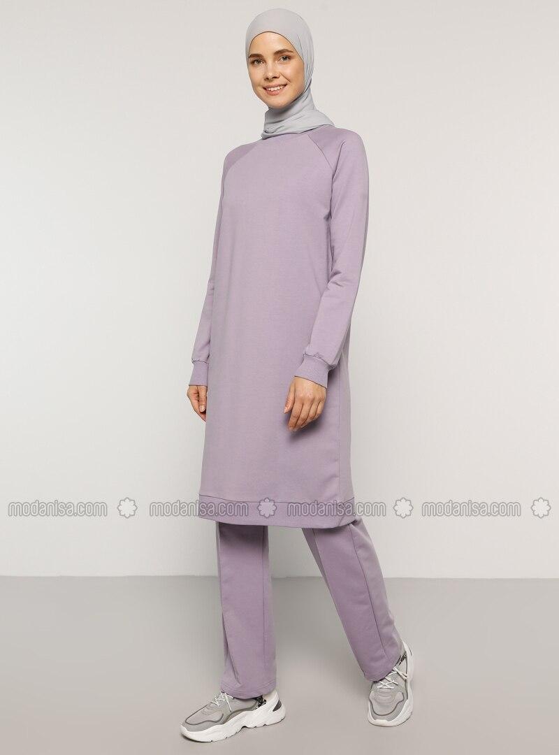 Lilac - Unlined -  - Suit