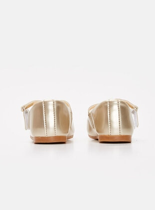 Gold - Girls` Flat Shoes - LC WAIKIKI
