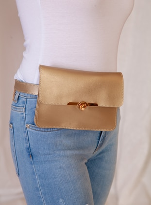 Gold - Satchel - Bum Bag